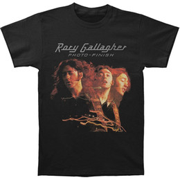 $enCountryForm.capitalKeyWord Australia - 2019 RORY GALLAGHER Photo - Finish Rock Blues Guitar White Black T-Shirt Size S-3XL Hot T Shirt Fashion Top Tee