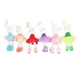 $enCountryForm.capitalKeyWord NZ - Baby Toys Cute Rabbit Sleeping Comfort Stuffed Doll Cartoon Bunny Teddy bear Plush Animals Hot Toys For Baby Gifts B1115-2