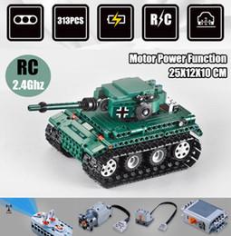 Model Military Tanks Australia - New RC Military Tank RC motor power function fit legoings technic swat military Model Building Blocks bricks diy kid Boy Gift