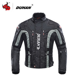 $enCountryForm.capitalKeyWord Australia - DUHAN Motorcycle Jacket Motocross Equipment Gear Cotton Underwear Cold-proof Moto Jacket Oxford Cloth Moto 4 Color