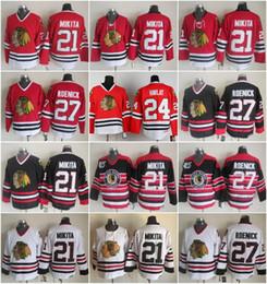 09da3d238 Men 21 Stan Mikita Home Jersey Hockey Chicago Blackhawks Vintage CCM 27  Jeremy Roenick 24 Martin Havlat 28 Steve Larmer Red White Black