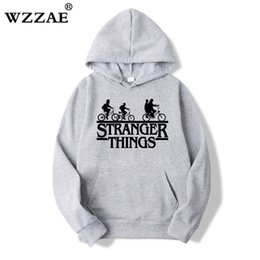 Hip Hop sweatsHirts for men online shopping - 2019 Trendy Faces Stranger Things Hooded Mens Hoodies and Sweatshirts Oversized for Autumn with Hip Hop Winter Hoodies Men Brand SH190918