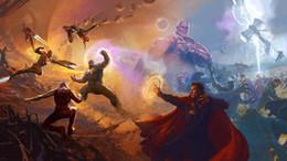 $enCountryForm.capitalKeyWord Australia - Avengers Infinity WarBlack Panther Captain America Art Silk Poster 24x36inch 24x43inch 0548