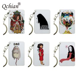 Spirit Pendants Australia - Backpack Car Motorcycle Key Decoration Jewelry Anime Spirited Away Color Picture Printed Series Keychain Pendant