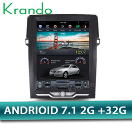 "Multimedia Player For Car Australia - Krando Android 7.1 12.1"" Vertical screen car DVD multimedia player for Toyota Reiz Mark 2010-2016 GPS entertainment system radio"