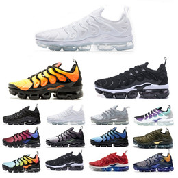 New free ruN shoes online shopping - New Mens Shoe Sneakers TN Plus Breathable Air Cusion Desingers Casual Running Shoes New Arrival Color US5 EUR36