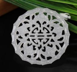 Necklace waist online shopping - Afghan jade hollow five blessings birthday brand jade natural jade pendant pendant antique Hanfu tassel waist