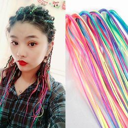 braid hair accessories Australia - Rainbow Color Cute Girl Curler Hair Braid Hair Styling Tools Roller Braid Maintenance The Princess Hair Accessory