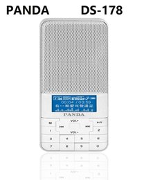 Discount ds mp3 player PANDA DS-178 Portable player FM Radio TF Card MP3 WMA, WAV play