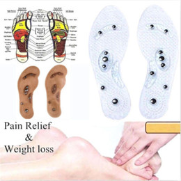 massaging gel insoles Australia - New Foot Care Cushion Slimming body Gel Pad Therapy Acupressure new massaging cushion insole Acupressure Slimming Insoles