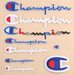 Iron crafts online shopping - Letter Badge Embroidery Iron on Patch letter cloth patch weater decoration DIY Cloth Patch Clothes Craft LJJK1762