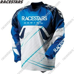 mountain racing moto UK - NEW RACESTARS Moto Jersey DH MX Motocross Downhill Jersey Bicycle Shirts Off Road Mountain Clycling MTB