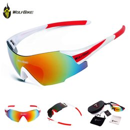 Wolfbike bicycle online shopping - WOLFBIKE UV400 Cycling Glasses Women Men Outdoor Sports MTB Road Bike Bicycle Windproof Riding Fishing Sunglasses