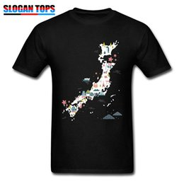 $enCountryForm.capitalKeyWord Australia - Newest Men Clothes Japan Style T Shirt Japan Elements Country Map Print Tops Black Tshirt Cotton Casual Tee Shirts Birthday Gift