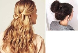 $enCountryForm.capitalKeyWord Australia - 2019 new European and American stars with the wig bow hairpin hairpin hairpin Taobao hot jewelry