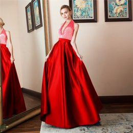 $enCountryForm.capitalKeyWord NZ - 2019 A Line Long Prom Dresses sequined Lace Applique Beaded backless Floor Length Formal Party Evening Gowns special occasion dresses