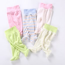 infant solid color tights NZ - Baby pants 100% cotton baby infant leggings kids clothes newborn tights boys & girls pants high elasticity baby spring