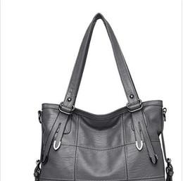 Big Ladies Handbags Australia - Large Soft Leather Bag Women Handbags Ladies Crossbody Bags For Women Shoulder Bags Female Big Tote Sac A Main