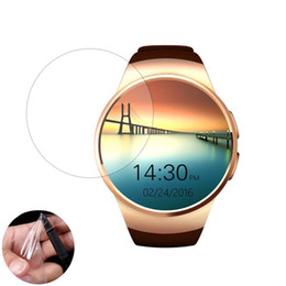 Smart Watch Screen Protectors Australia - 3pcs Soft Ultra Clear Protective Film Guard Protection For KW18 Smart Watch Smartwatch Display Screen Protector Cover(Not Glass)