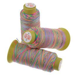 $enCountryForm.capitalKeyWord UK - IY Apparel Sewing Fabric Hoomall 1Roll 180M Colorful Cotton Thread For DIY Handmade Stitch Embroidery Thread 0.6mm Knitting Needlework S...