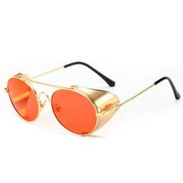 d556ff8c7b Womens Shield Sunglasses Australia - 2019 Mens Womens Round Fashion Retro  Vintage Shield Eyewear Shades Metal