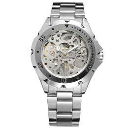 $enCountryForm.capitalKeyWord Australia - Forsining Business Mens Mechanical Watches Luxury Luminous Hands Men Self-Wind Mechanical Watch Stainless Steel Skeleton Watch SLZe22