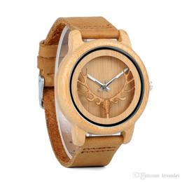 $enCountryForm.capitalKeyWord Australia - BOBO BIRD A27 Bamboo Wood Watches Women Top Sale Qaurzt Men Watch in Gift Box Drop