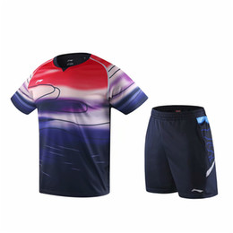 Discount table tennis t shorts New, short-sleeved badminton T-shirt for men and women, fast-drying and breathable badminton sportswear, table tennis clothes, tennis clothe
