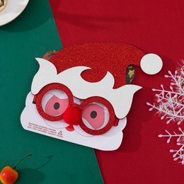classic plastics Australia - Christmas fashion new plastic eyeglass frame decoration sequins elves adult children's party decoration props independent packaging