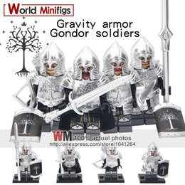 Knights Blocks Australia - Building Blocks 80PCS LOT Lord of the Rings Medieval Knight Action Figures Soldier of Gondor Archer Sword Children Toys Legoings