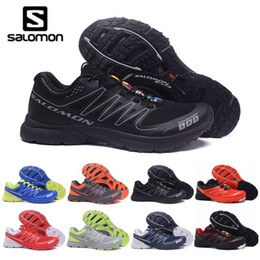 Mens grounding shoes online shopping - 2019 New Mens Salomon S LAB SENSE Ultra Run Soft Ground Wings Fashion Running Shoes High Quality Outdoor Jogging Sports Athletic Shoe