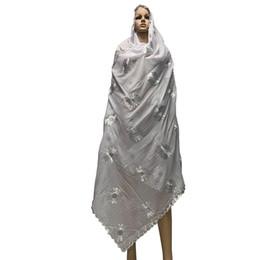 $enCountryForm.capitalKeyWord UK - New Arrival African Women Scarfs Soft Cotton Scarf Big Embroidery Design On The Back Long Shawls HeadScarf BM786