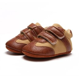 Wholesale Baby Infant Shoesborn Kids Soft Sole Non Slip Shoes Sneakers Prewalker Walking Casual Boys Shoe