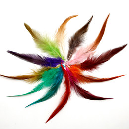 """$enCountryForm.capitalKeyWord UK - pheasant feather, 4-6 """"  10-15cm, natural color and dyed feathers, for DIY Craft & Jewelry Accessories 600pcs   lot"""