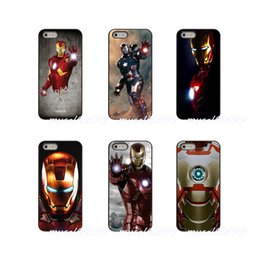 Iron Man Phone Cases Australia - Iron Man Hard Phone Case Cover For Apple iPhone X XR XS MAX 4 4S 5 5S 5C SE 6 6S 7 8 Plus ipod touch 4 5 6
