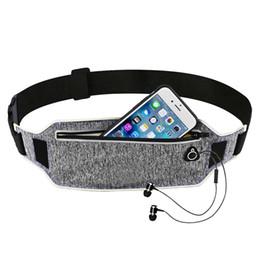 Belt pouches for men online shopping - Ultra thin Running Waist Pouch Bag Lightweight Sport Belt Waist Pack Fits for iPhone s for Men Women with Hidden Pouch