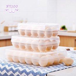 Toys Fridges Australia - Fridge Transparent Egg Box Egg Storage Box Fresh Box Egg Shelf