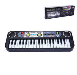 Children toys piano online shopping - 37 Keys Kids Piano Black keyboard Musical Educational Toys For Children Kid s Musical Instrument Professional Musical Toys Gift