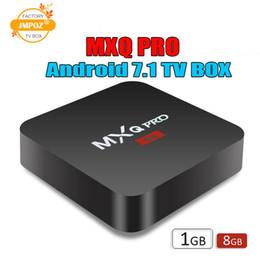 Hd Tv Movies Australia - 1 PCS Cheapest RK3229 MXQ PRO 4K Tv Box Ram 1G Rom 8G Android 7.1 tv box Stream Media Player Support 3D Free Movies