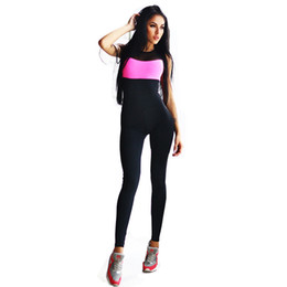 Chinese  Gertu Sporting Bodysuit 2018 Elasticity Fitness Backless Jumpsuit Ladies Fashion Cross Bandage Slim Playsuit Women Macacao Y190427 manufacturers