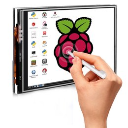 Tft Lcd Touch Screen Module Canada - For Raspberry Pi 3 2 TFT LCD Display 3.5 Inch 480x320 TFT Touch Screen Monitor for Raspberry Pi Module SPI Interface