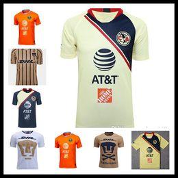 bbc58134d063a 2018 19 Club de Futbol America home away 3rd Soccer Jersey new de Futbol America  away Soccer Shirt Customized Mexico club football uniform