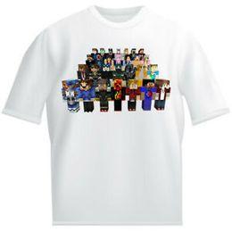 $enCountryForm.capitalKeyWord Australia - Gamers United Kids White T shirt childrens Dantdm Stampy prestonz Morgz Youtuber