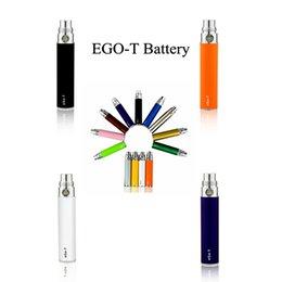 Ce4 Ce5 Pen Australia - eGo-T Battery 510 Thread 650mAh 900mAh 1100mAh E-Cigarettes for MT3 CE4 CE5 Glass Cartridge Ceramic Vaporizer eGo eCigs Vape Pen