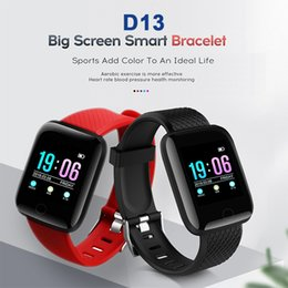 $enCountryForm.capitalKeyWord Australia - D13 Smart Band Watch Fitness Tracker Pedometer Bluetooth Sport ID 116 Plus Smart Bracelet Wrist Bands Heart Rate Blood Pressure