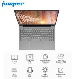 "laptops dual camera 2019 - Jumper EZBook X4 Pro Notebook 14.0"" Windows 10 Intel Core i3-5005U Dual Core 2.0GHz 8GB RAM 256GB SSD 2.0MP Camera"