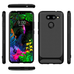 Iphone carbon fIber bumper online shopping - Carbon Fiber Texture Design Durable Light Shockproof Cover Slim Fit Shell Soft TPU Silicone Gel Bumper Case for Iphone P P X XR Xs Max