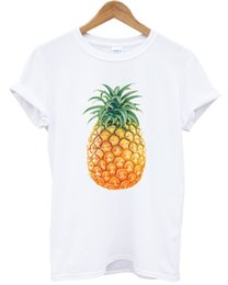 food t shirts Australia - PINEAPPLE T SHIRT HIPSTER BLACK FOOD FRUIT FITNESS URBAN TOP MEN WOMEN BLOGGER NEW ARRIVAL tees causal summer t shirt cheap wholesale