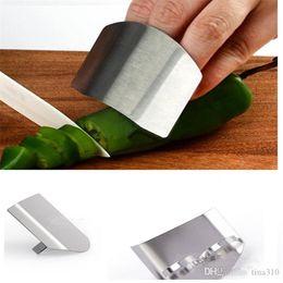 finger shields, Multifunzionale In Acciaio Inox Anti taglio finger protector, Cucina Gadget Mano protector sicuro SliceT5I004 in Offerta