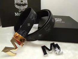 Cowboys belts online shopping - 2019 brand men belt Genuine Leather MC buckle Usa West Cowboy Cow Head Man Luxury Belts New Fashion Great Men Gift